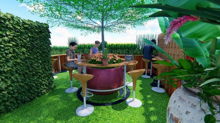 Thiết kế cảnh quan quán cà phê